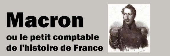 Macron comptable histoire France bis