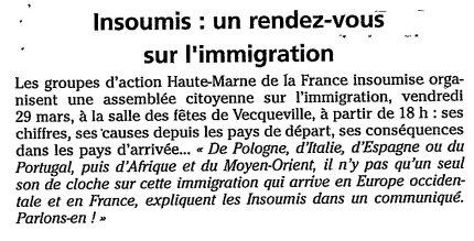 JHM annonce AC immigration_mars2019