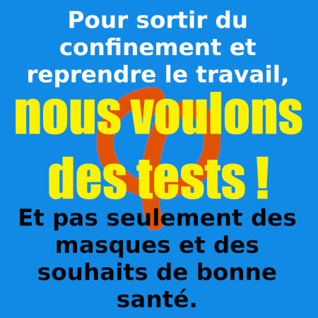 reprise travail & tests